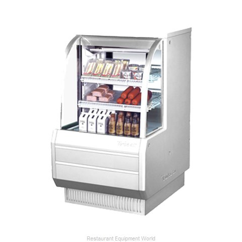 Turbo Air TCDD-36-2-H Display Case Refrigerated Self-Serve