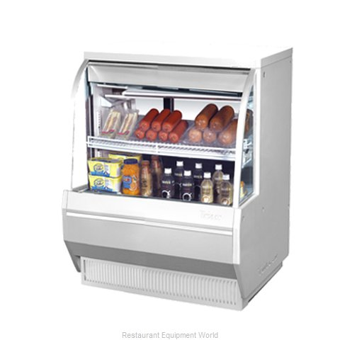 Turbo Air TCDD-36-2-L Display Case Refrigerated Self-Serve