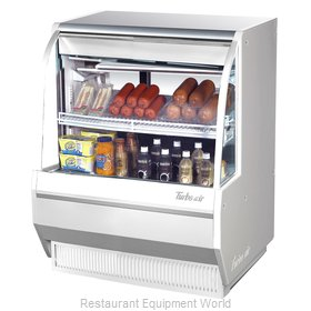 Turbo Air TCDD-36L-W-N Display Case, Refrigerated Deli
