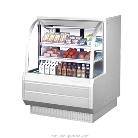 Turbo Air TCDD-48-2-H Display Case Refrigerated Self-Serve
