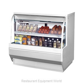 Turbo Air TCDD-48-2-L Display Case, Refrigerated Deli
