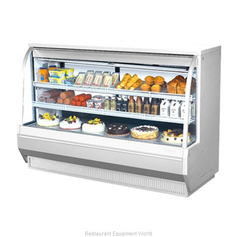 Turbo Air TCDD-72-2-H Display Case Refrigerated Self-Serve