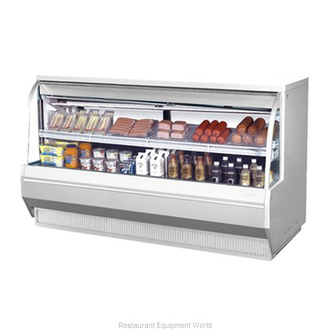 Turbo Air TCDD-72-2-L Display Case Refrigerated Self-Serve