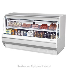 Turbo Air TCDD-72L-W-N Display Case, Refrigerated Deli