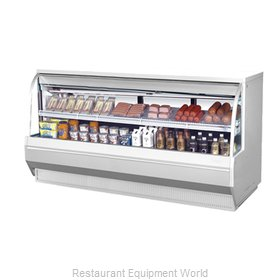 Turbo Air TCDD-96-4-L Display Case Refrigerated Self-Serve