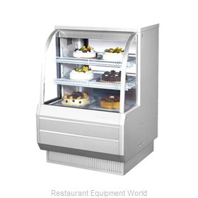 Turbo Air TCGB-36-2 Display Case, Refrigerated Bakery