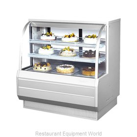 Turbo Air TCGB-48-2 Display Case, Refrigerated Bakery