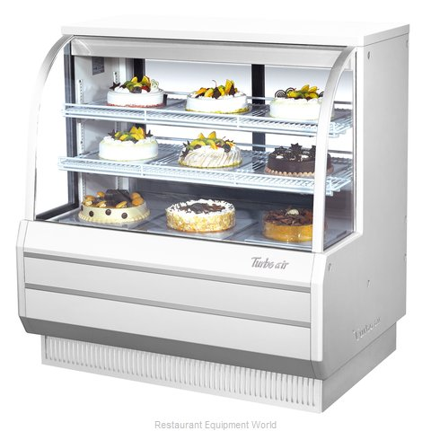 Turbo Air TCGB-48-DR Display Case Non-Refrigerated Bakery