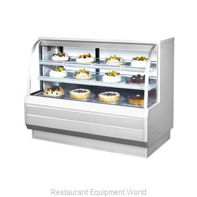 Turbo Air TCGB-60-DR Display Case, Non-Refrigerated Bakery