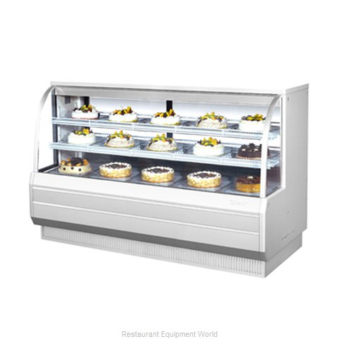 Turbo Air TCGB-72-DR Display Case Non-Refrigerated Bakery