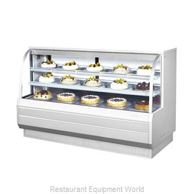 Turbo Air TCGB-72-W-N Display Case, Refrigerated Bakery