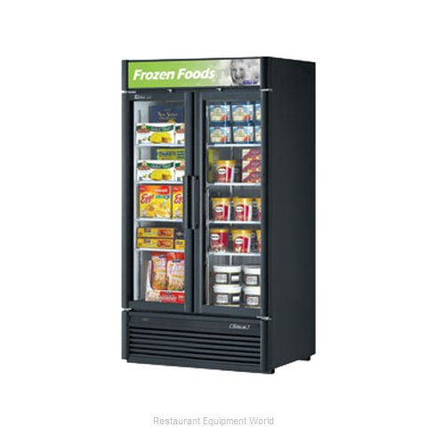 Turbo Air TGF-35SD Freezer, Merchandiser