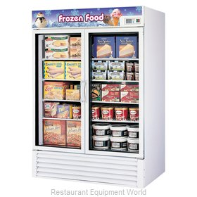 Turbo Air TGF-49F Freezer, Merchandiser