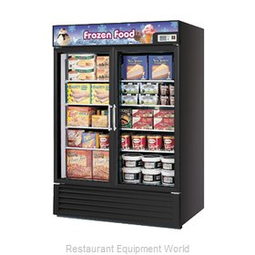 Turbo Air TGF-49FB Freezer Merchandiser