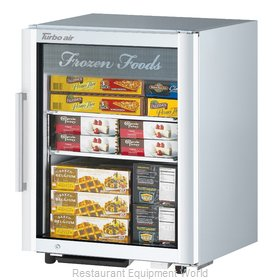 Turbo Air TGF-5SD Display Case, Freezer, Countertop