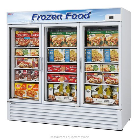 Turbo Air TGF-72F Freezer Merchandiser (Magnified)