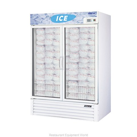 Turbo Air TGIM-49 Merchandiser, Bagged Ice
