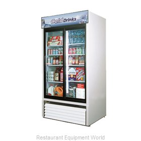 Turbo Air TGM-35R Refrigerator, Merchandiser