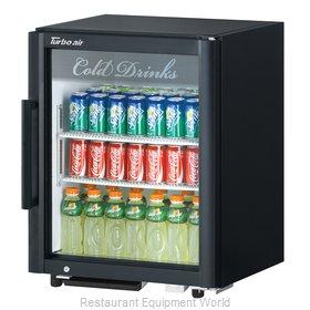 Turbo Air TGM-5SD-N6 Refrigerator, Merchandiser, Countertop