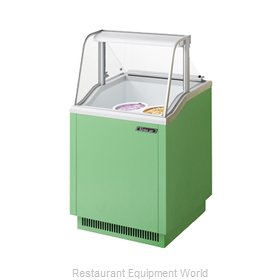 Turbo Air TIDC-26G Display Case, Dipping Ice Cream