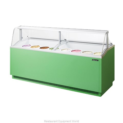 Turbo Air TIDC-91G Ice Cream Dipping Cabinet