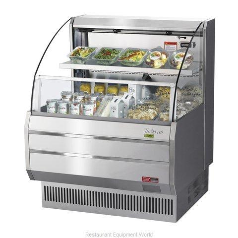 Turbo Air TOM-30LS-N Merchandiser, Open Refrigerated Display
