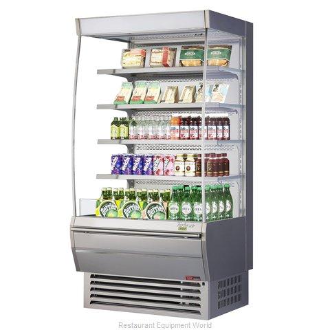 Turbo Air TOM-36DXS-N Merchandiser, Open Refrigerated Display