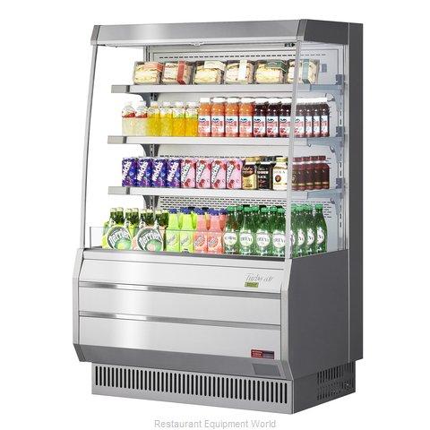 Turbo Air TOM-40MS-N Merchandiser, Open Refrigerated Display