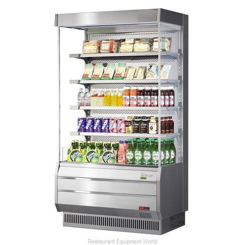 Turbo Air TOM-40S-N Merchandiser, Open Refrigerated Display