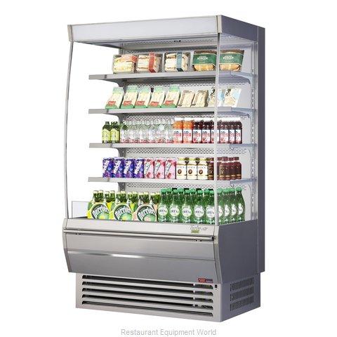 Turbo Air TOM-48DXS-N Merchandiser, Open Refrigerated Display