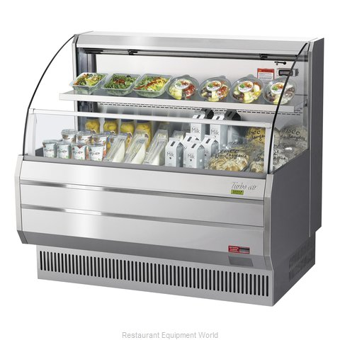 Turbo Air TOM-50LS-N Merchandiser, Open Refrigerated Display