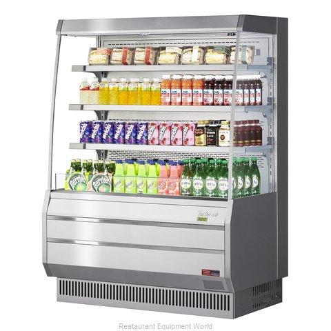 Turbo Air TOM-50MS-N Merchandiser, Open Refrigerated Display