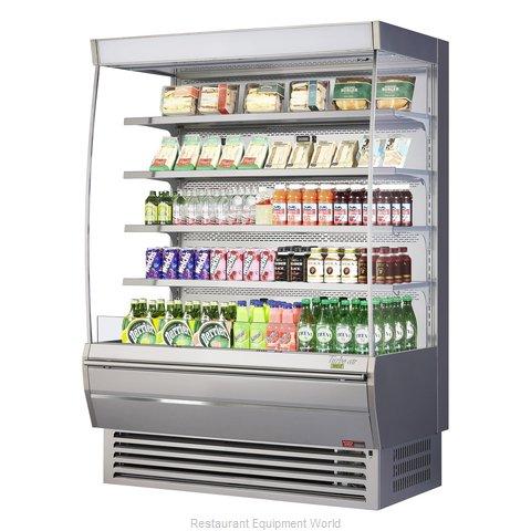 Turbo Air TOM-60DXS-N Merchandiser, Open Refrigerated Display