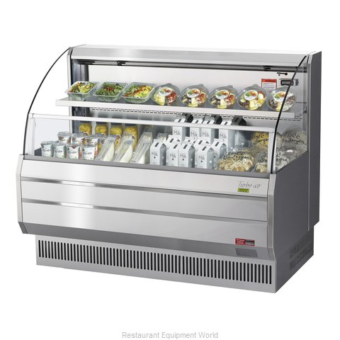 Turbo Air TOM-60LS-N Merchandiser, Open Refrigerated Display