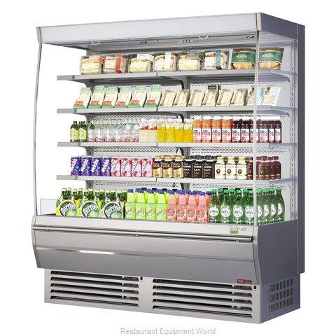 Turbo Air TOM-72DXS-N Merchandiser, Open Refrigerated Display