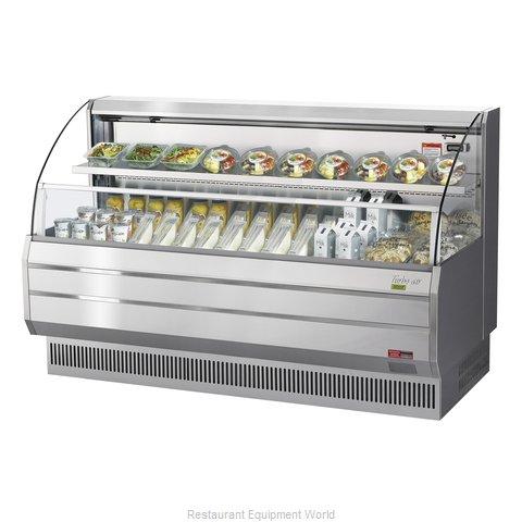 Turbo Air TOM-75LS-N Merchandiser, Open Refrigerated Display