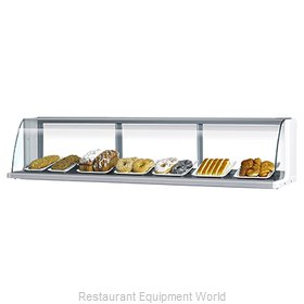 Turbo Air TOMD-40-L Display Case, Non-Refrigerated Countertop