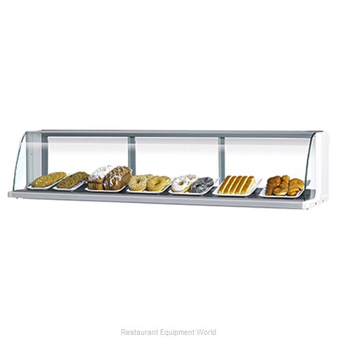 Turbo Air TOMD-40-LB Display Case, Non-Refrigerated Countertop