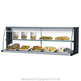 Turbo Air TOMD-50-H Display Case, Non-Refrigerated Countertop
