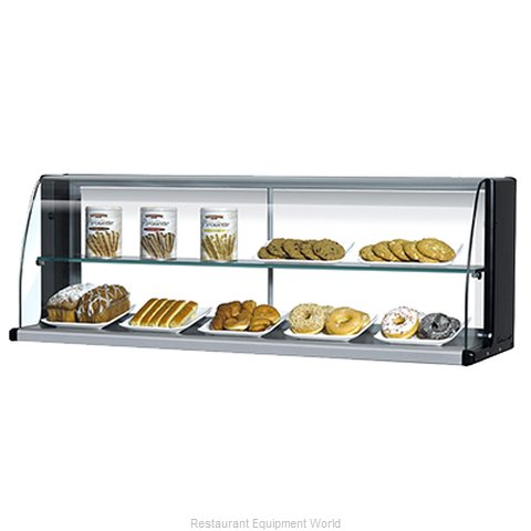 Turbo Air TOMD-75-HB Display Case, Non-Refrigerated Countertop