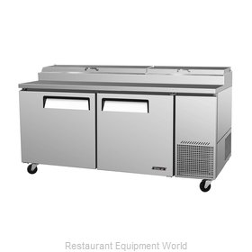 Turbo Air TPR-67SD Refrigerated Counter, Pizza Prep Table
