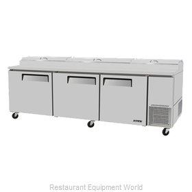 Turbo Air TPR-93SD Refrigerated Counter, Pizza Prep Table