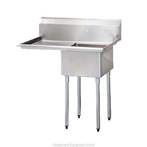 Turbo Air TSA-1-12-L1 Compartment Sink (Magnified)