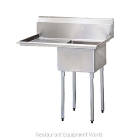 Turbo Air TSA-1-14-L2 Sink, (1) One Compartment
