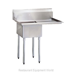 Turbo Air TSA-1-14-R2 Compartment Sink