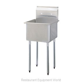 Turbo Air TSA-1-N Compartment Sink