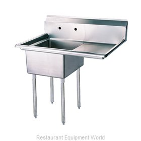 Turbo Air TSA-1-R1 Compartment Sink