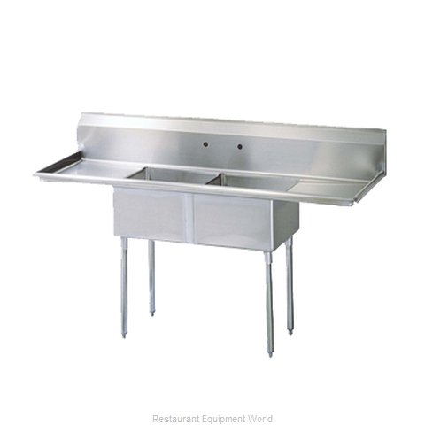 Turbo Air TSA-2-12-D1 Compartment Sink (Magnified)