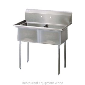 Turbo Air TSA-2-N Compartment Sink