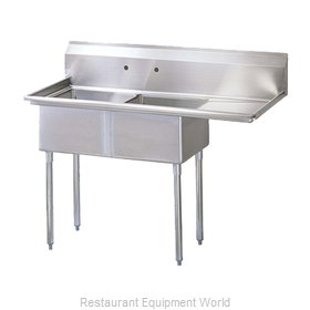 Turbo Air TSA-2-R1 Sink, (2) Two Compartment